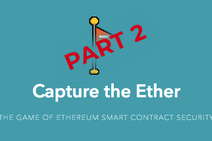 capture the ether part 2